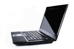Laptop-Notizbuchisolat Stockbilder