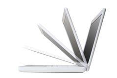 laptop nowoczesnego Obrazy Stock