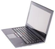 Laptop odizolowywający na biel Obrazy Stock