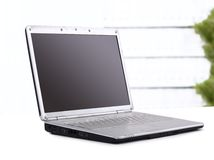 Laptop in the office Stock Image