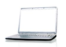 Laptop in the office. Royalty Free Stock Images