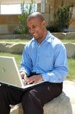 Laptop Onderbreking Stock Foto