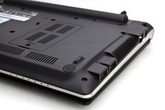 Laptop onderkant Royalty-vrije Stock Afbeelding