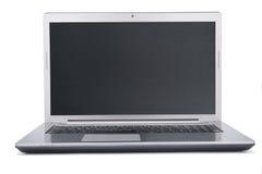 Laptop op witte achtergrond Royalty-vrije Stock Afbeelding