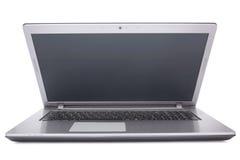 Laptop op witte achtergrond Royalty-vrije Stock Foto's