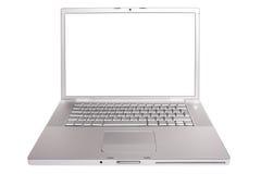 laptop otwarty Obrazy Royalty Free