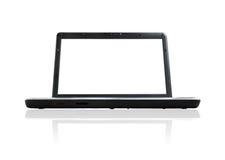 laptop otwierający Zdjęcia Stock