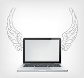 Laptop PC Royalty Free Stock Photo