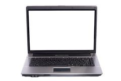Laptop PC on white background Royalty Free Stock Images