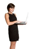 Laptop Person Royalty Free Stock Image