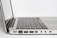 Laptop Power Ports Stock Photos