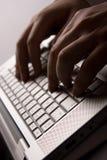 laptop praca Zdjęcia Royalty Free