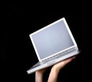 Laptop Presented Stock Photo