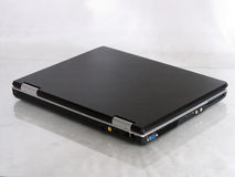 Laptop - rückseitig Stockbild