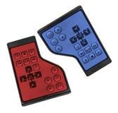 Laptop Remote Controls Royalty Free Stock Photo