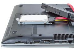 Laptop repair Stock Photo