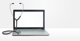 Laptop repair. Concept design banner Stock Photos