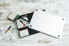 Laptop repair Stock Photos