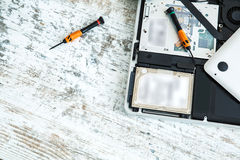 Laptop repair Royalty Free Stock Photography