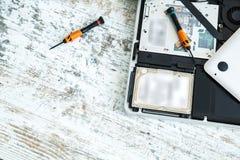 Laptop repair Royalty Free Stock Photography