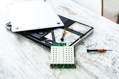 Laptop repair Royalty Free Stock Photo