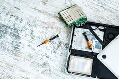 Laptop repair Royalty Free Stock Image