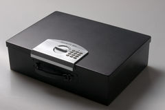 Laptop safe. For in a car, boat, trailer, hotel Royalty Free Stock Photos