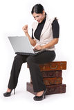 Laptop search Stock Image