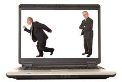 Free Laptop Senior Executive 2 Stock Image - 1944301