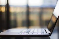 Laptop, shallow depth of field Royalty Free Stock Photos