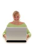 laptop się kobiety zdjęcia royalty free