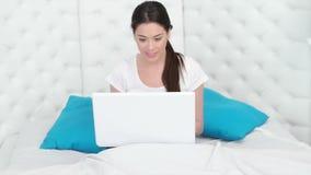 laptop się piękne kobiety zbiory wideo
