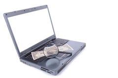 Streach online dollar Stock Photos