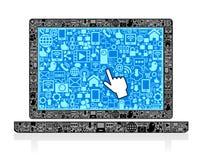 Laptop-Symbol Stockbilder