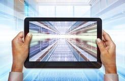 Laptop technologies of the future Stock Photo