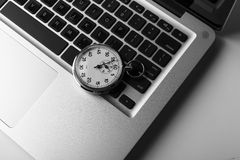 Laptop Time Royalty Free Stock Photos
