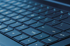 Laptop Toetsenbord Royalty-vrije Stock Foto