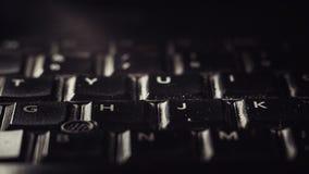Laptop Toetsenborddetails Royalty-vrije Stock Afbeelding