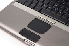 Laptop Toouch Pad stock photography