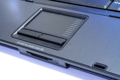 Laptop touchpad Stock Images
