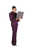 Laptop user Stock Image