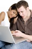 Laptop Users Royalty Free Stock Photography
