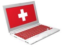 Laptop van de eerste hulp Royalty-vrije Stock Foto's