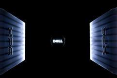 Laptop van Dell XPS embleem stock afbeelding