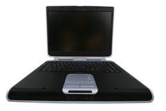 Laptop vanuit een beetje verschillend perspectief Royalty-vrije Stock Fotografie