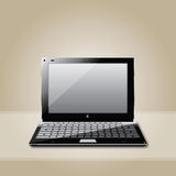 Laptop vector Royalty Free Stock Photos