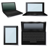 Laptop. Vector 3d isometric  laptop ready to work. Format EPS available Stock Photography
