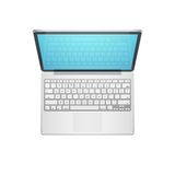Laptop Vector Illustration Stock Photo