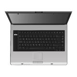 Laptop Vector (top View) Royalty Free Stock Photography