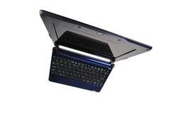 Laptop verzerrte Ansicht Lizenzfreie Stockfotos